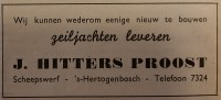 Advertentie Waterkampioen 1947